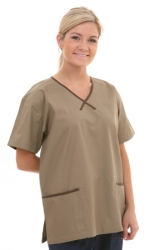 Star Trim Scrub Top - with 2 Trim Pockets (On Sale)  Style# A11