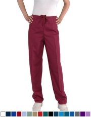 Unisex Scrub Pants - (1) Rear Pocket with Drawstring Style# UXB01C (Clearance)