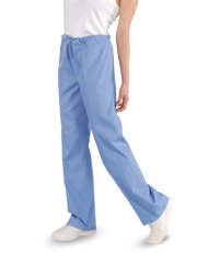 Unisex Scrub Pants - (1) Rear Pocket with Drawstring Style# UXB01 (On  Sale)