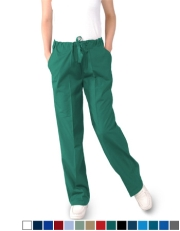 Unisex Scrub Pants with Drawstring - (3) Pockets, Petite Size  Style# UXBPC (Clearance)