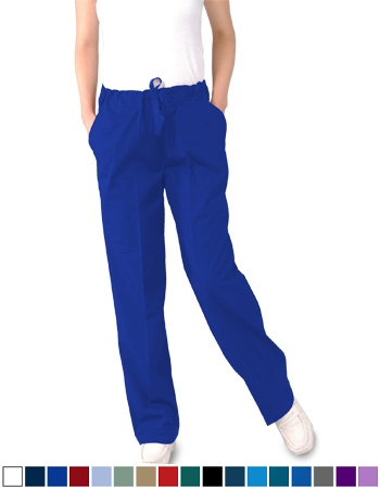Unisex Scrub Pants - (3) Pockets with Drawstring  Style# UXB02  (On Sale)