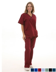 Two Pocket Crossover Scrub Set  Style# A10SET