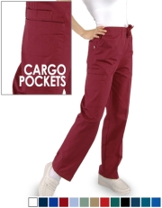 Unisex Pants with (2) Cargo Pockets with Drawstring Style# CSP2
