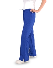 Flare  Pants, Half Elastic with Drawstring (3) Pockets - Petite Size -FP1C