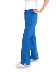 Flare Scrub Pants with Half Elastic (3) Pockets - Style# FR1C (Clearance)