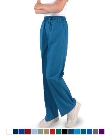 Unisex  Pants - (3) Pockets  Full Elastic Waist with Drawstring Style# B100 (On Sale)