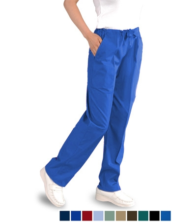 "Unisex (3) Pocket  Pants  Drawstring - Tall Size (33.5~34"" INSEAM) # UXBT34"