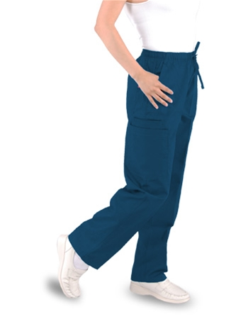 Unisex Pants (2) Cargo Pockets - Elastic  with Drawstring Style# B300C (Clearance)
